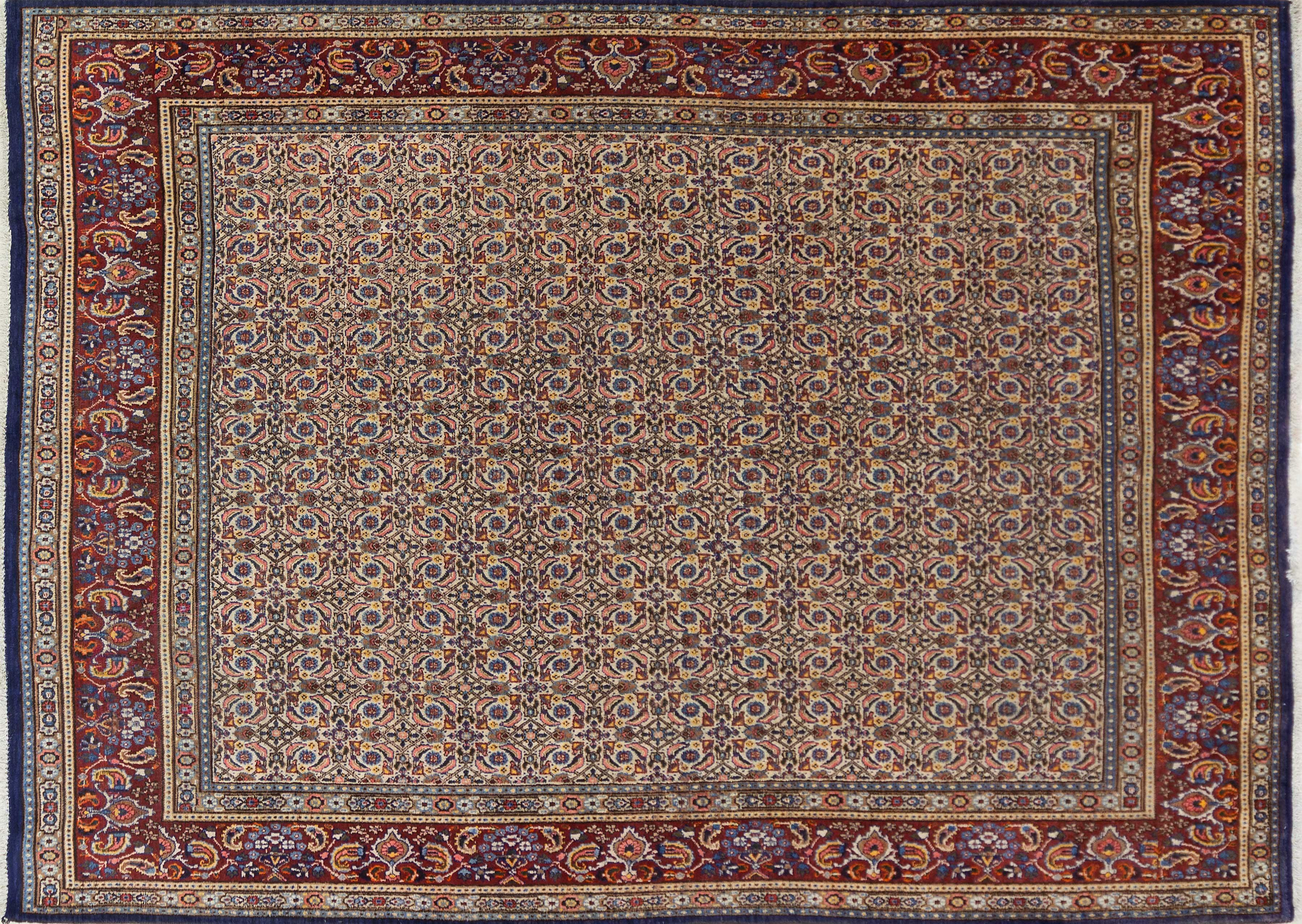 A Persian Hand Knotted Mood Carpet, 314 x 230