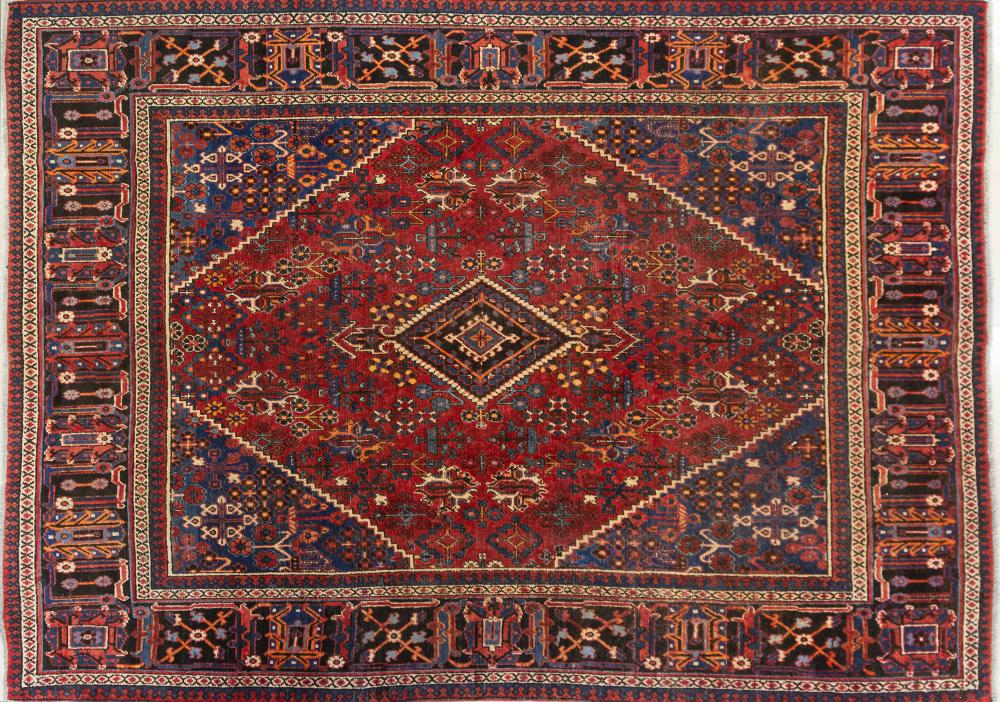A Persian Hand Knotted Joshegan Carpet, 375 x 265