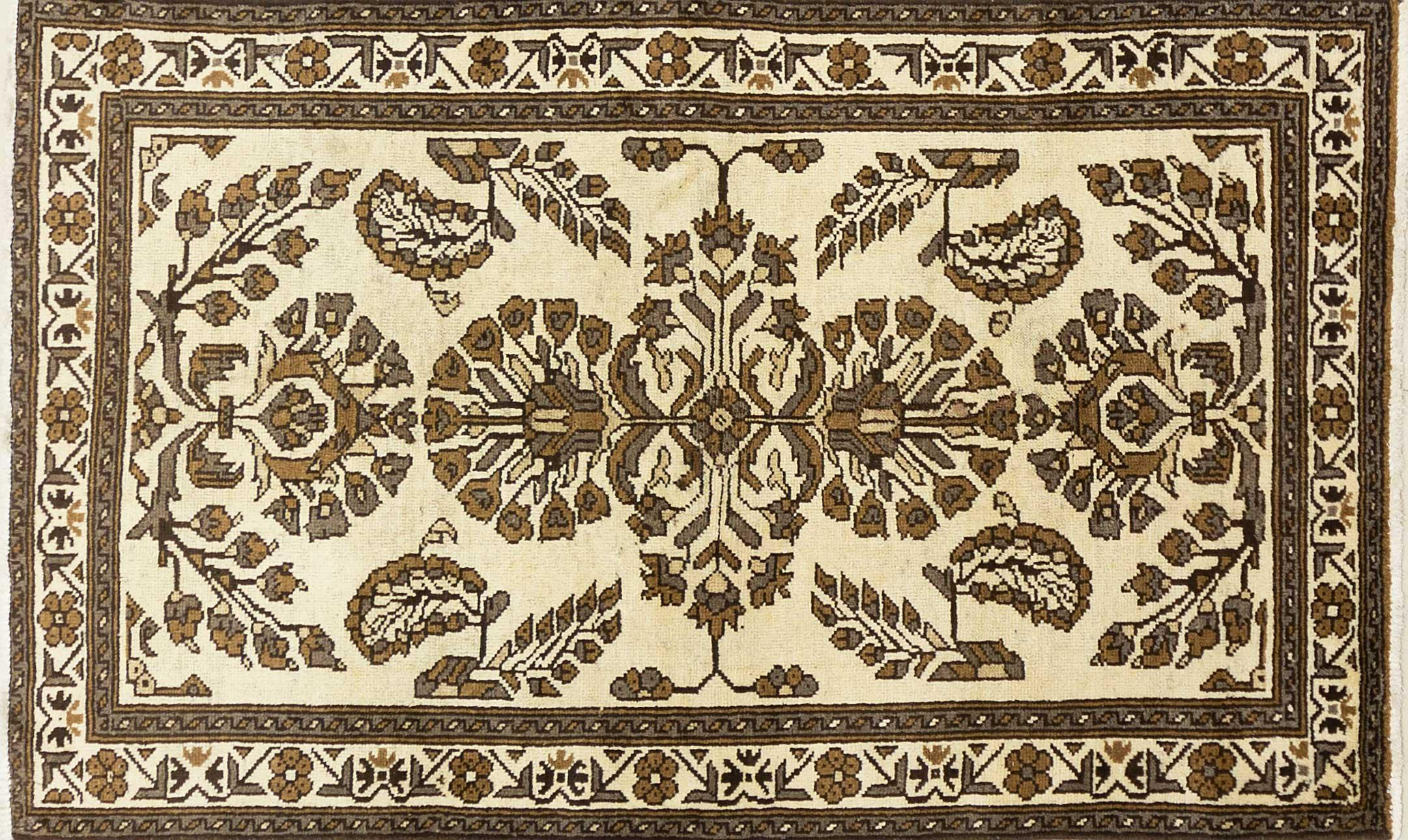 A Persian Hand Knotted Beluchi Rug, 194 x 115