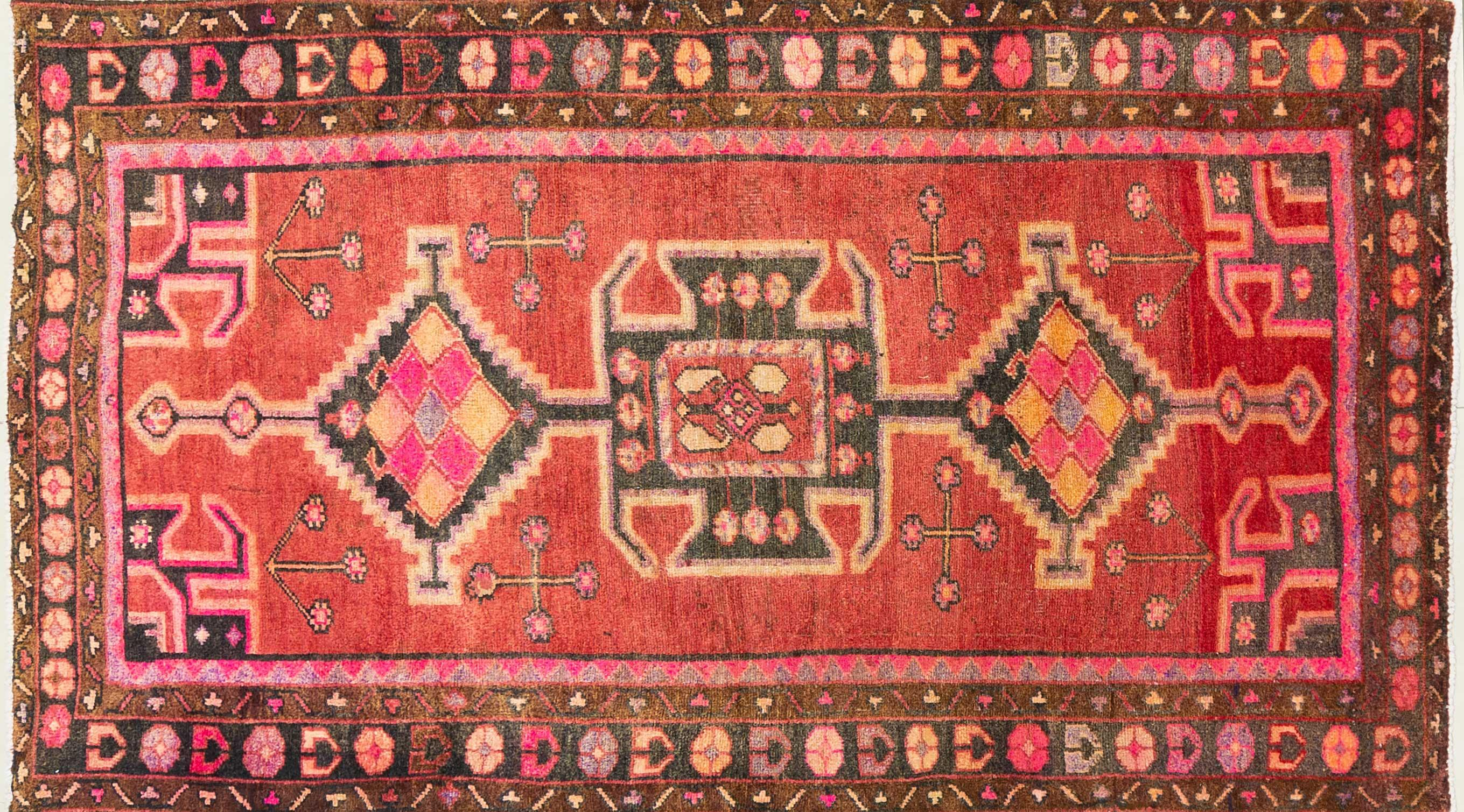A Persian Hand Knotted Lori Rug, 230 x 130