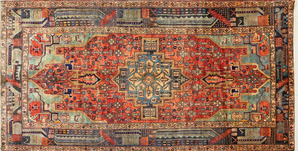A Persian Hand Knotted Koliayi Rug, 310 x 160