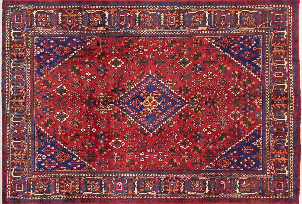 A Persian Hand Knotted Joshegan Carpet, 310 x 215