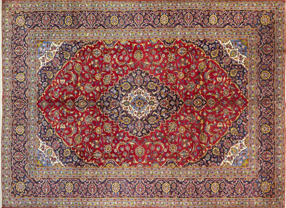 A Persian Hand Knotted Ardakan Carpet, 390 x 293