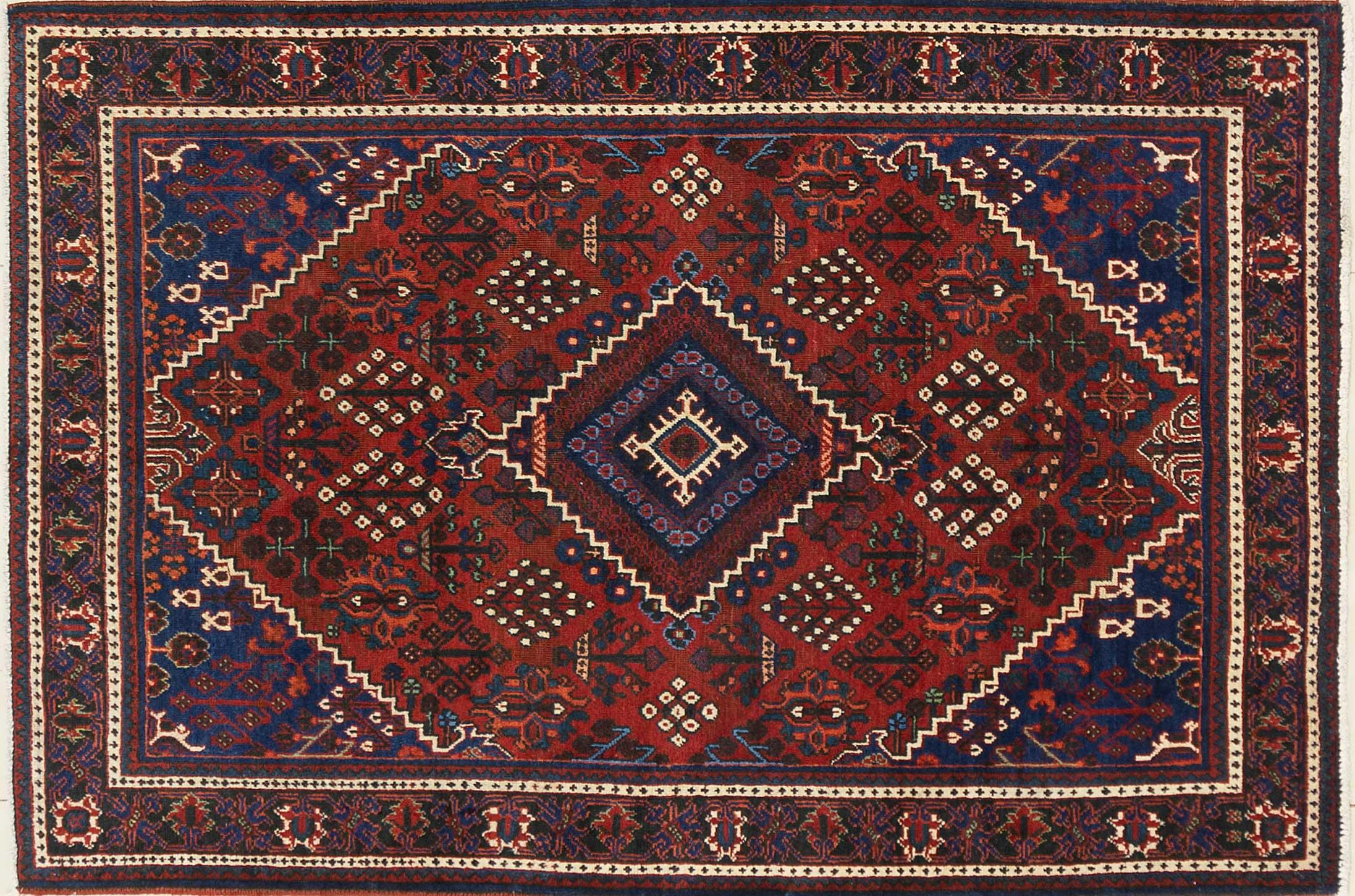 A Persian Hand Knotted Joshegan Rug, 200 x 137