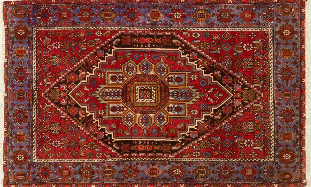 A Persian Hand Knotted Goltag Rug, 180 x 113