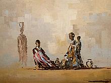 Pieter Van Blommestein (SA 20th C) Oil, North