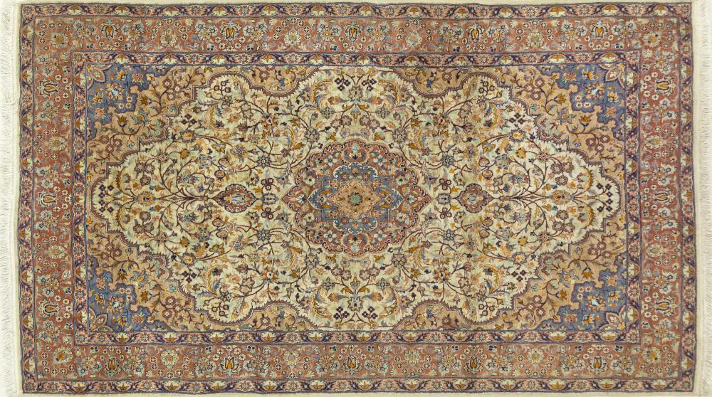 A Hand Knotted Islamabad Rug, 240 X 140