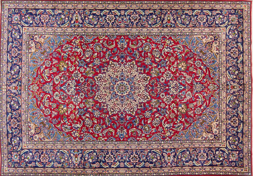 A Persian Hand Knotted Najafabad Carpet, 428 X 300