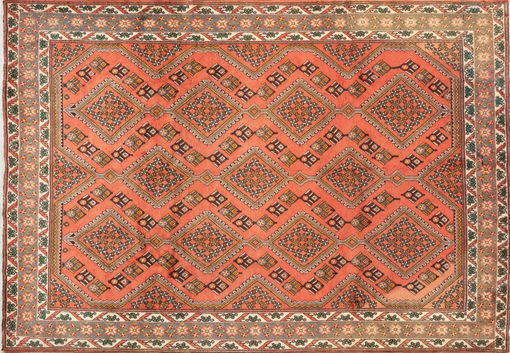 A Persian Hand Knotted Mahal Carpet, 288 X 202
