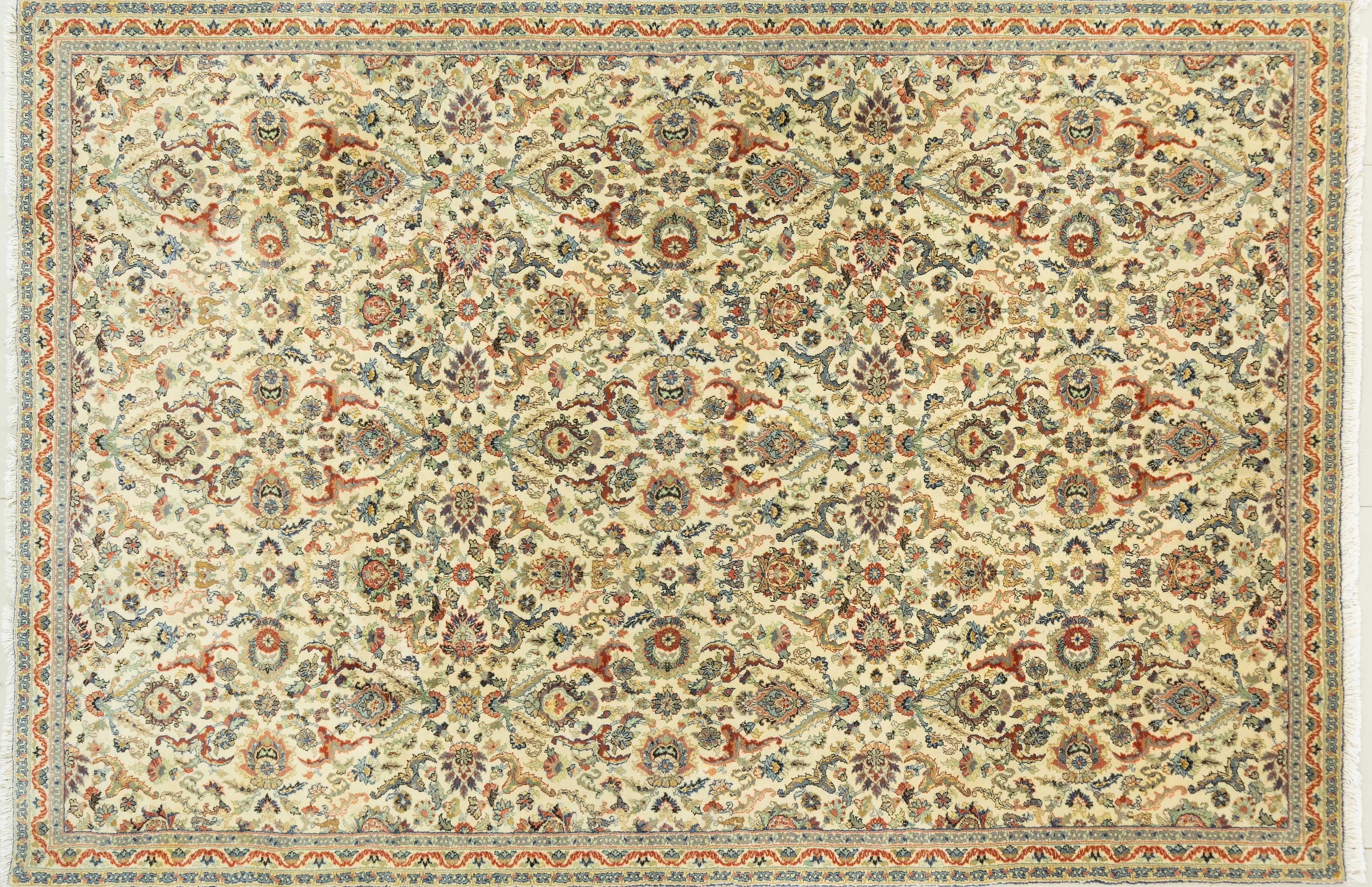 A Hand Knotted Kaisary Carpet, 310 X 206