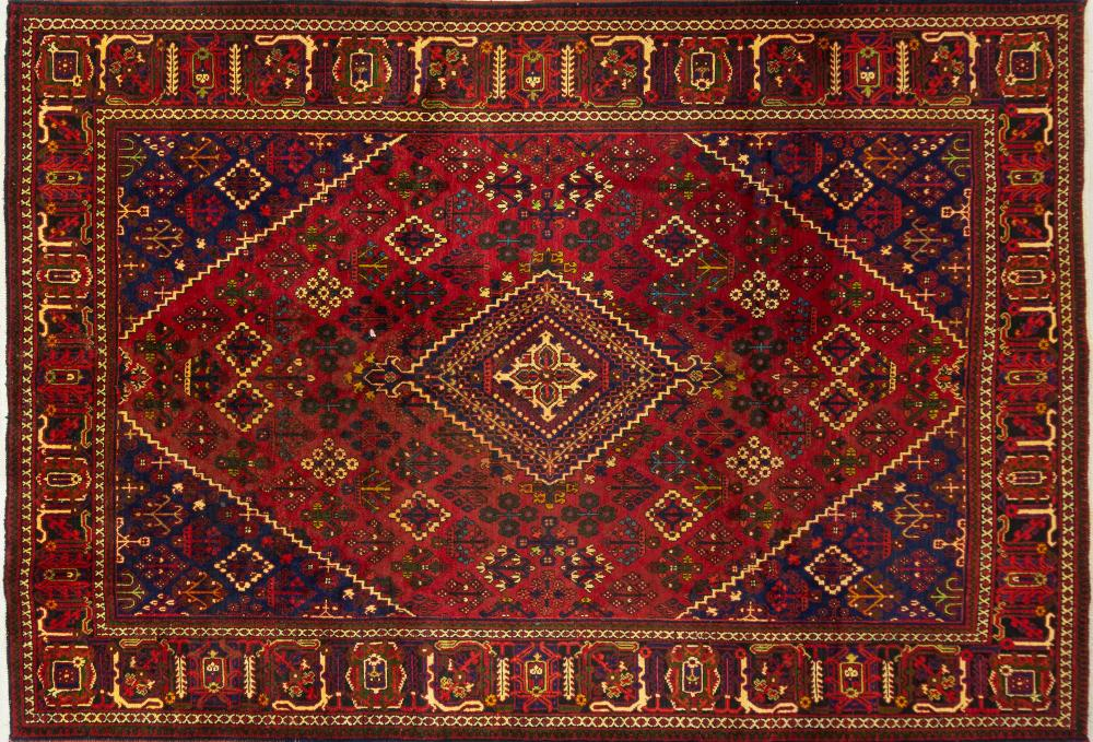 A Persian Hand Knooted Joshegan Carpet, 322 x 222