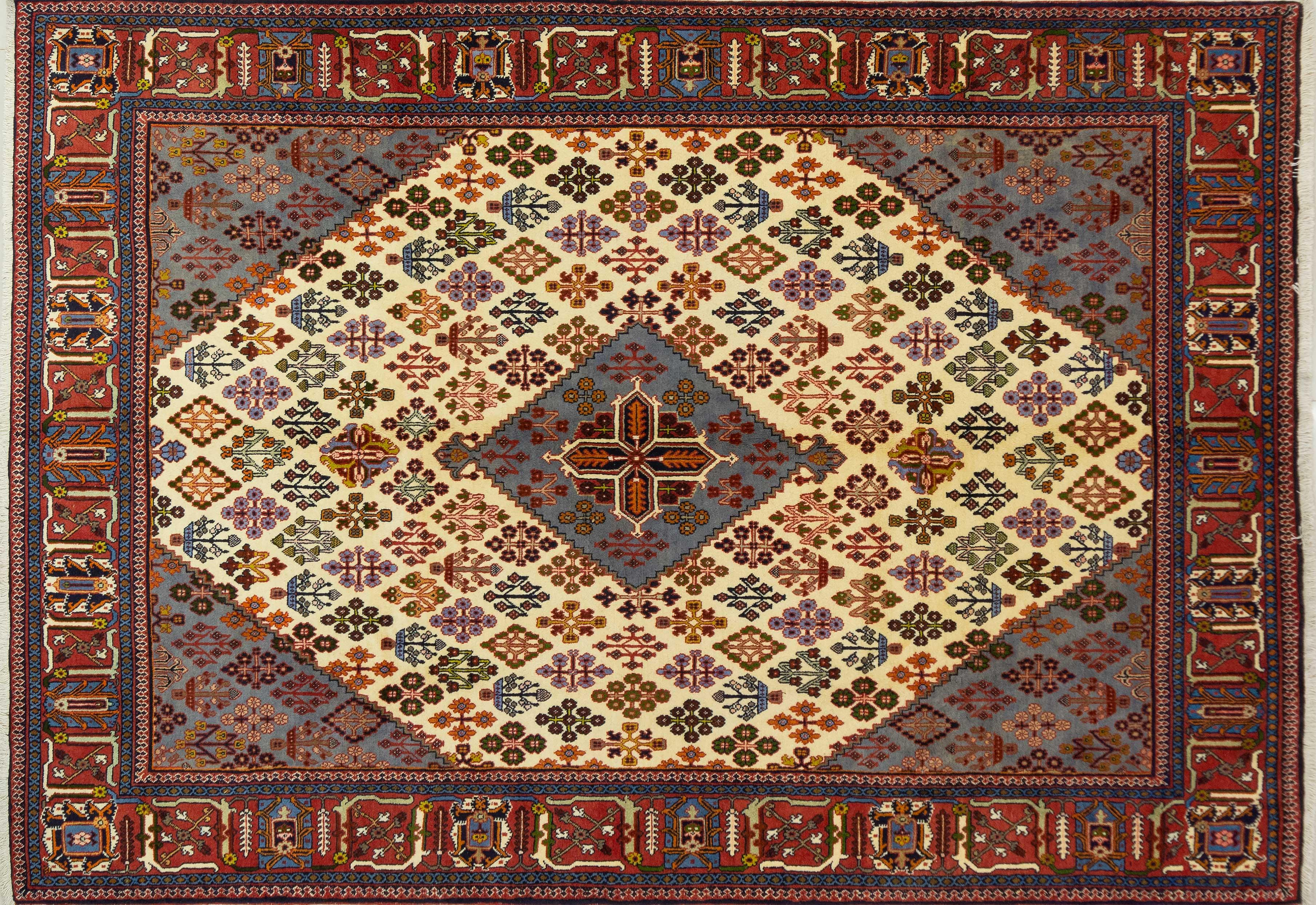 A Persian Hand Knotted Joshegan Carpet, 312 X 215