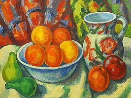 Deszo Koenig (SA 1902 - 1972) Oil, Still Life