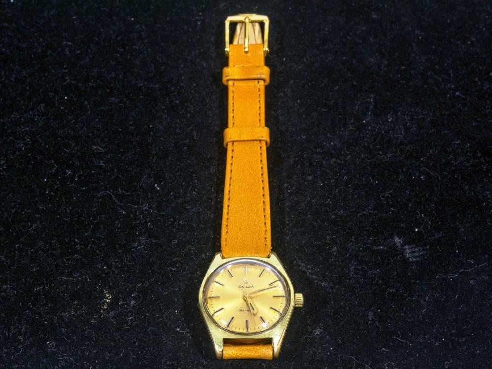 An Omega Geneve Ladies Wristwatch, Circa 1969, 26mm, A/F