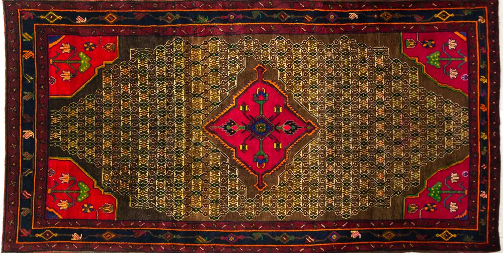 A Persian Hand Knotted Koliayi Rug, 300 x 155