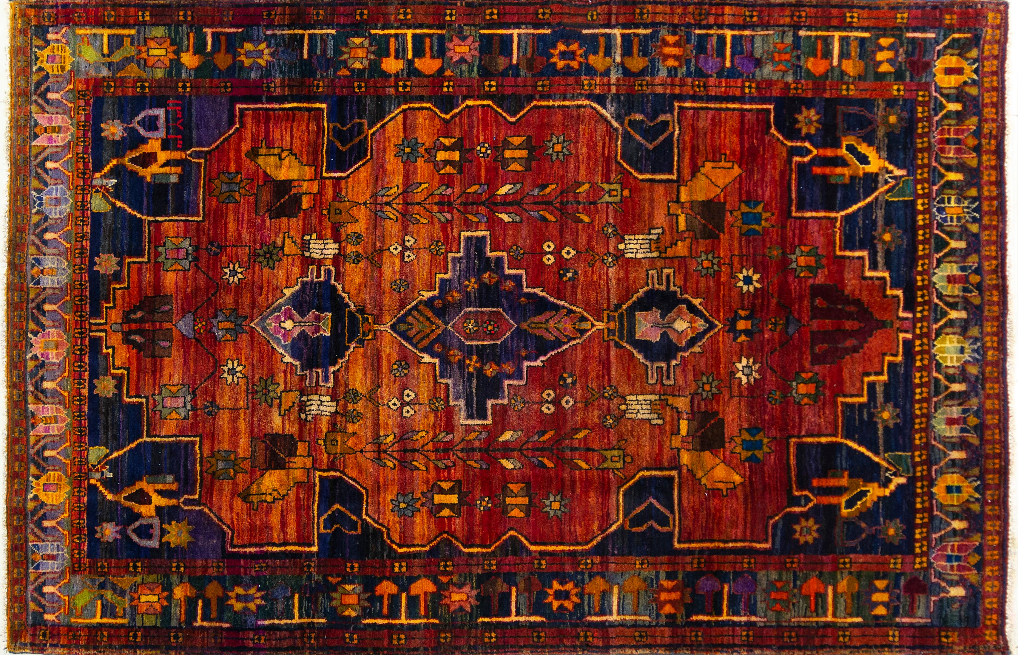 A Persian Hand Knotted Lori Carpet, 302 x 200
