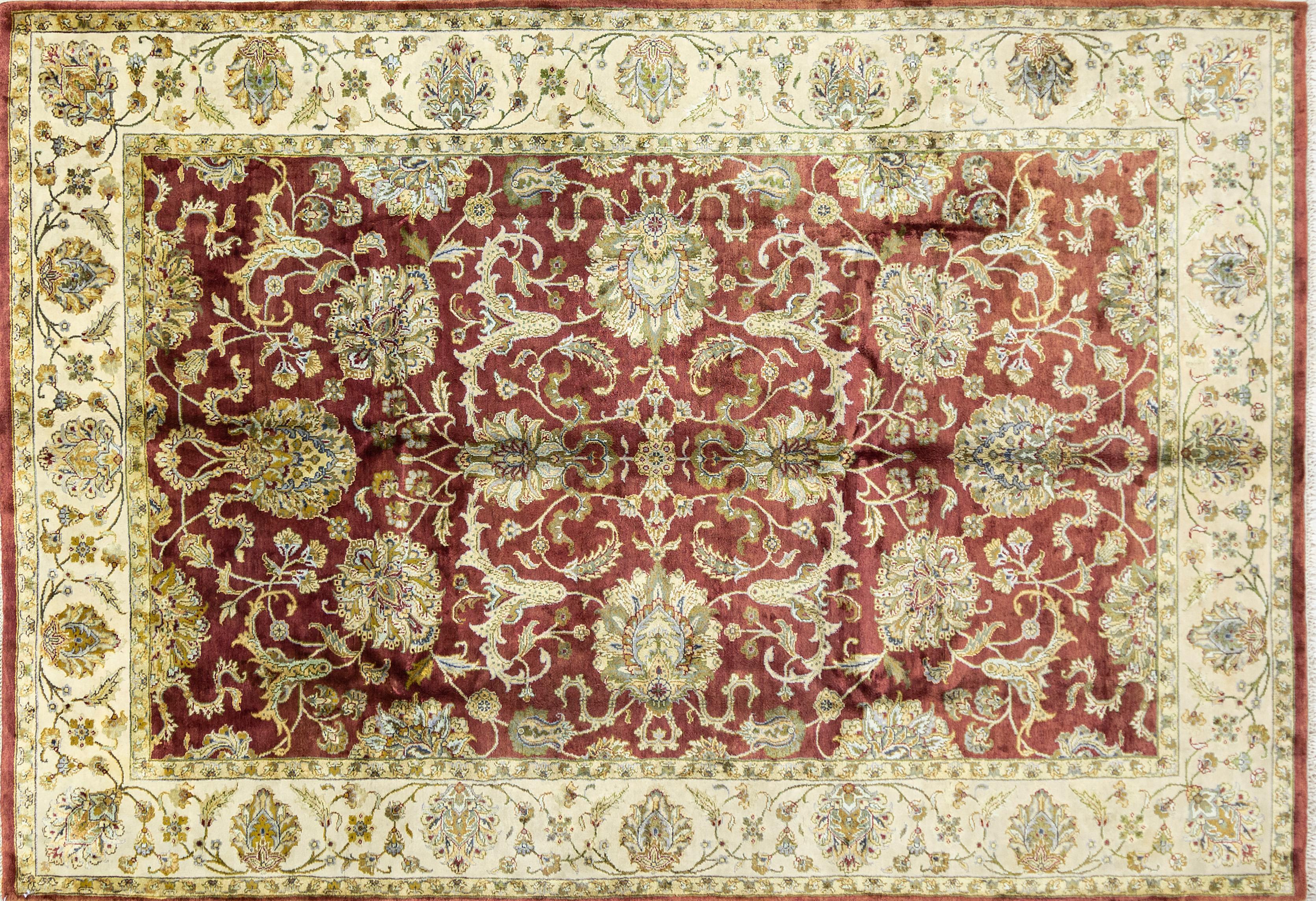 A Hand Knotted Chobi Carpet, 298 x 198