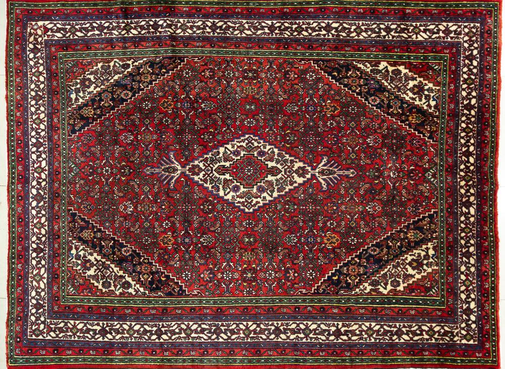 A Persian Hand Knotted Toiserkan Carpet, 356 x 268