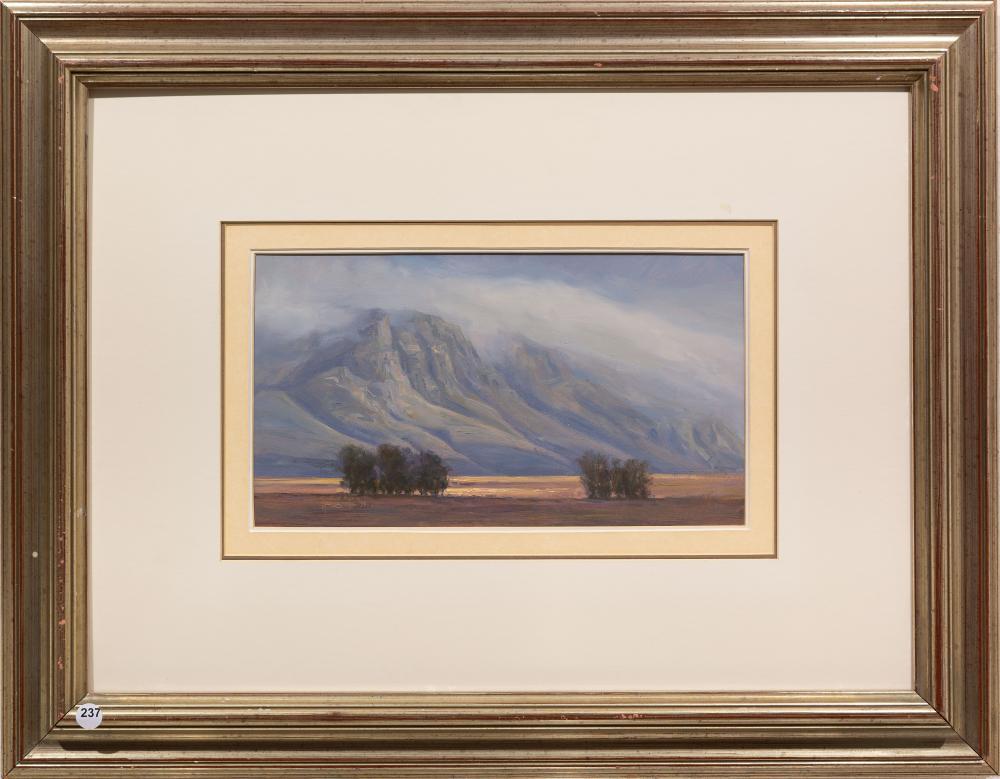 Ignatius Marx (SA, born 1962) Oil,
