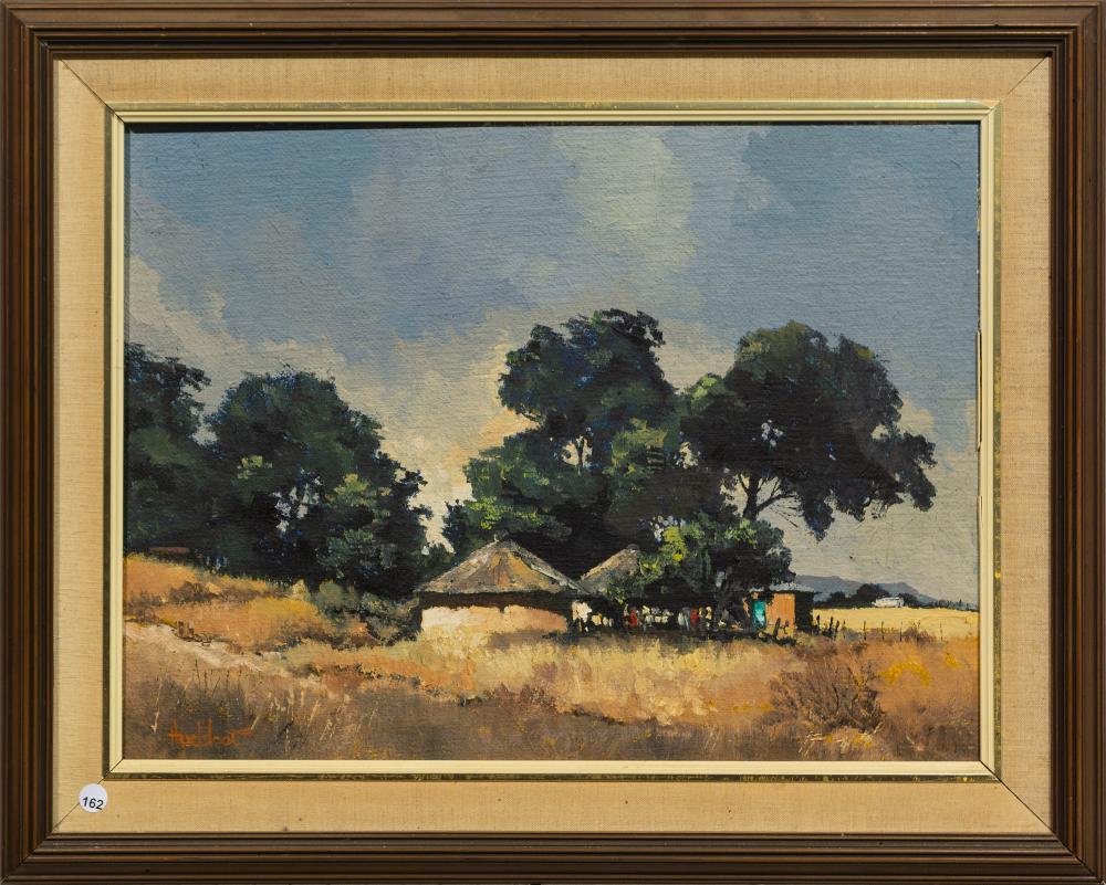 Ted Hoefsloot (SA, born 1930) Oil,