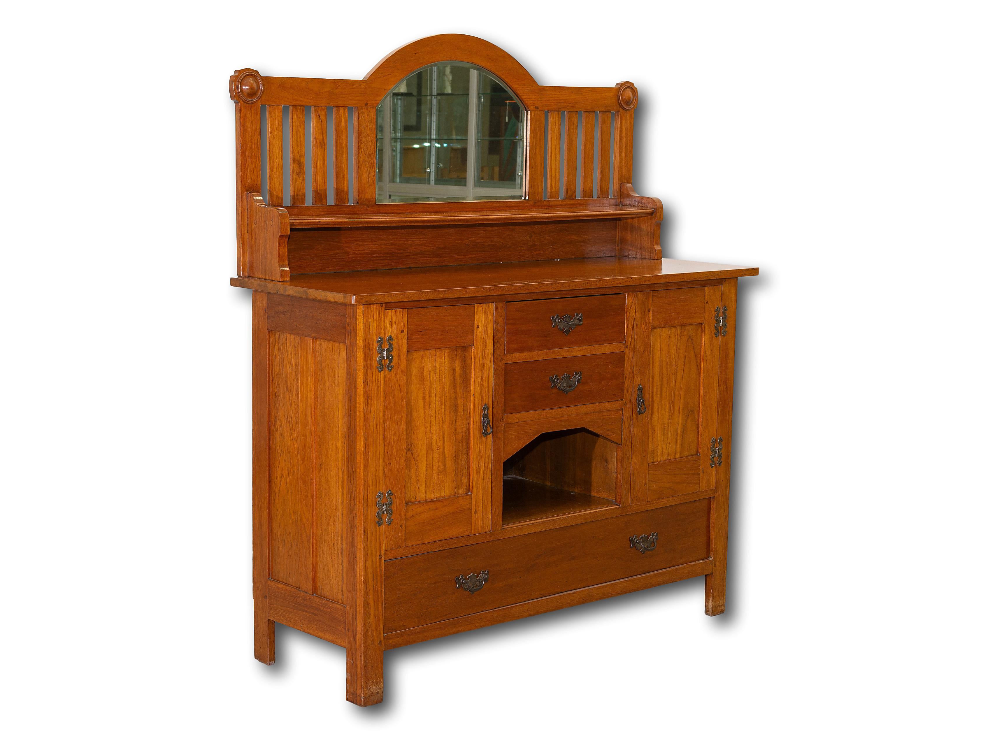 A Mid 20th Century Pine Welsh Dresser, 157 x 137 x 50