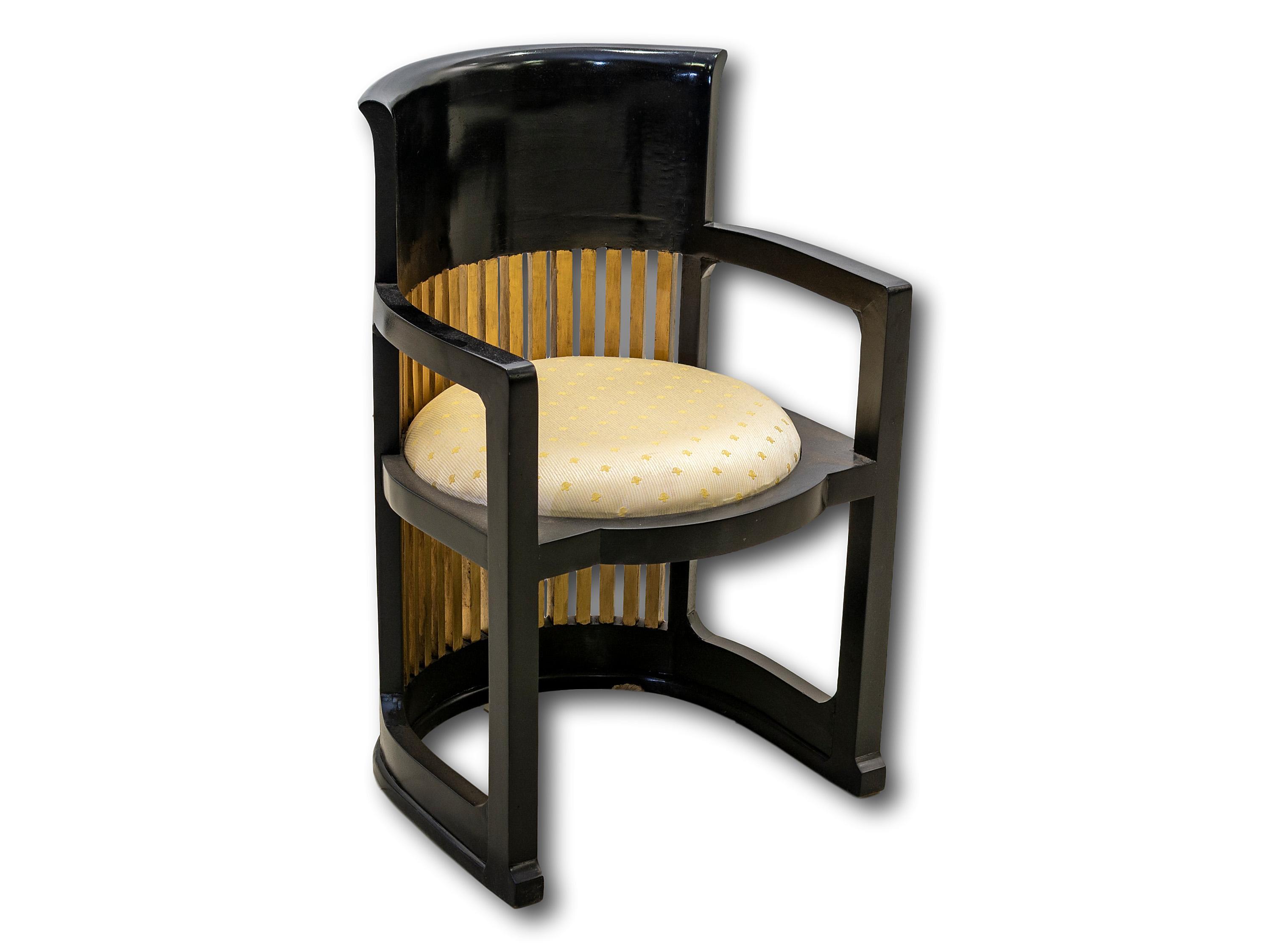 A Mid 20th Century Tub Chair, 85 x 56 x 56