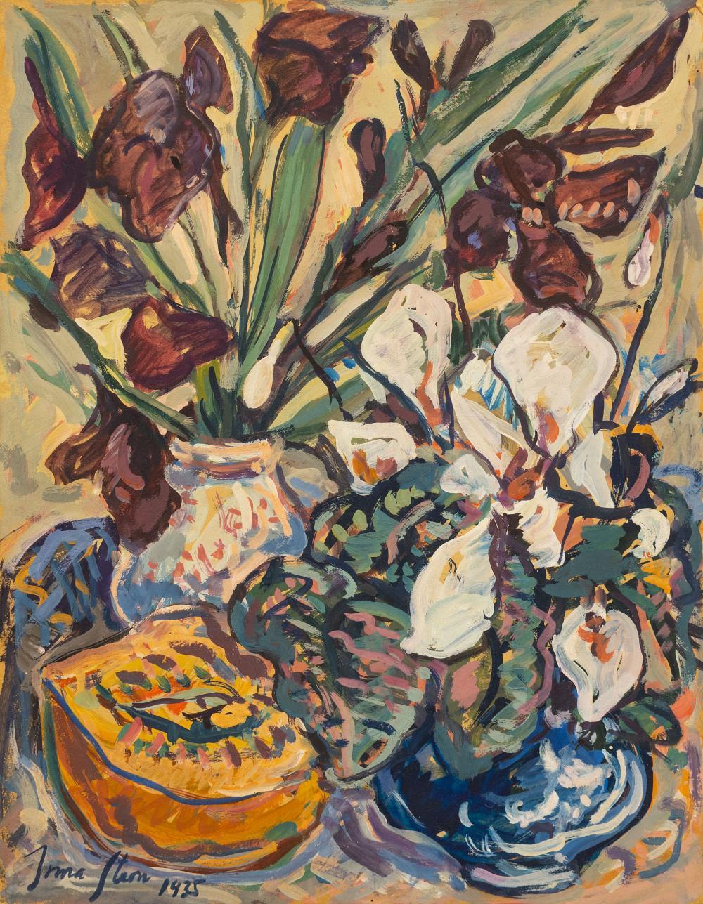 Irma Stern (SA 1894 - 1966) Gouache & Tempera,