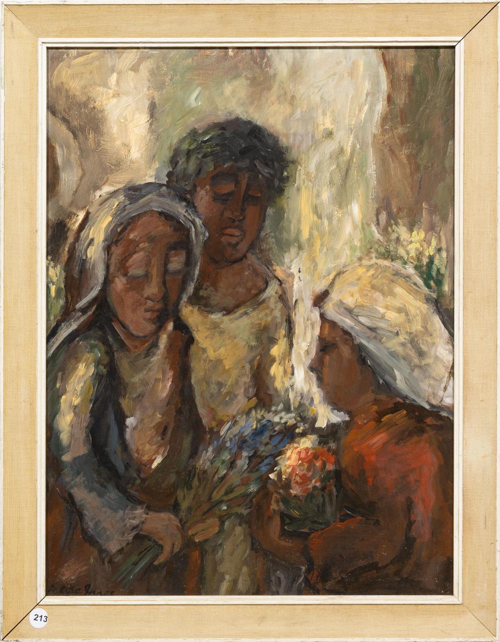 Alexander Rose-Innes (SA 1915 - 1996) Oil,