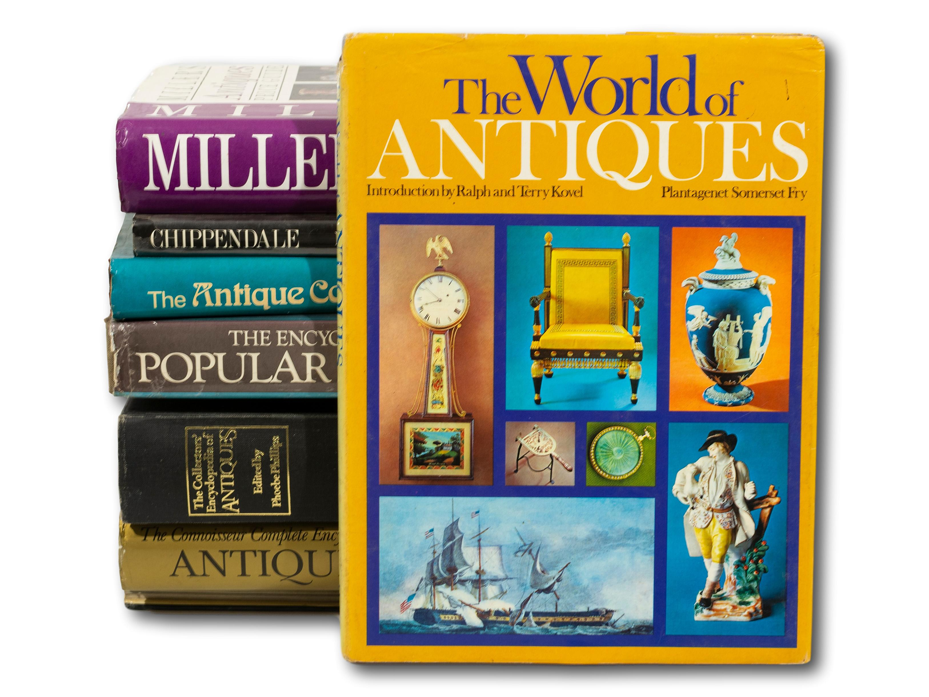 A Collection of 9 Various Antiques Books