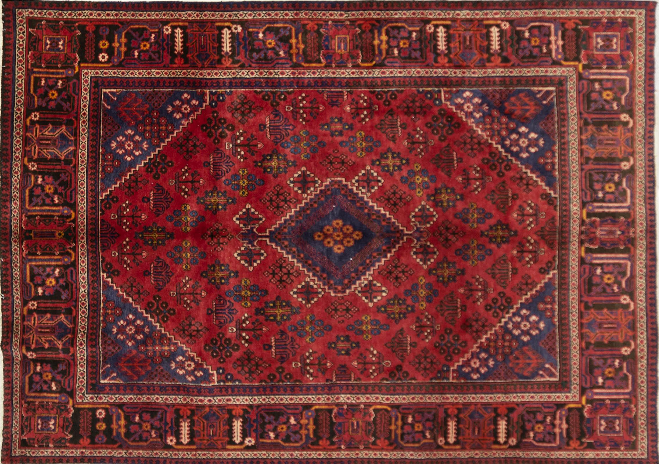 A Persian Hand Knotted Joshegan Carpet, 325 x 280
