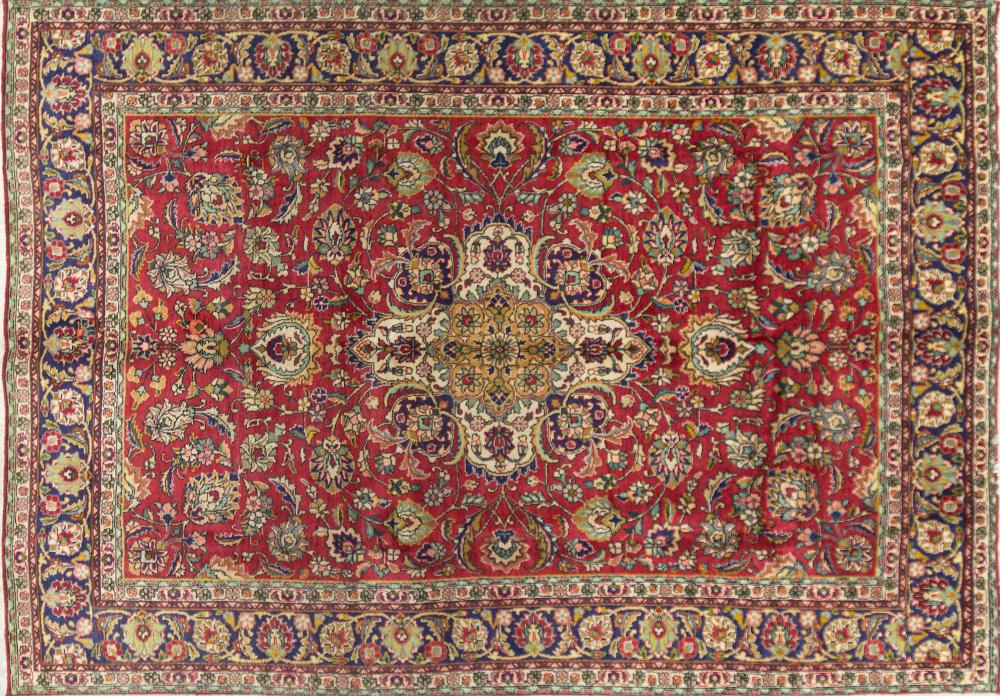 A Persian Hand Knotted Tabriz Carpet, 360 x 247