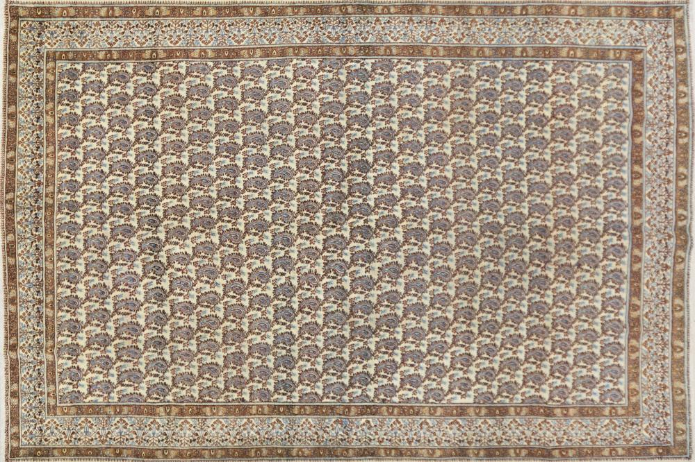 A Persian Hand Knotted Mood Carpet, 410 x 278