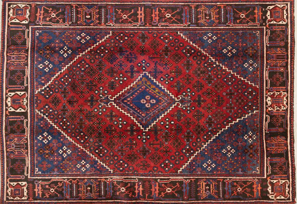 A Persian Hand Knotted Joshegan Carpet, 318 x 229