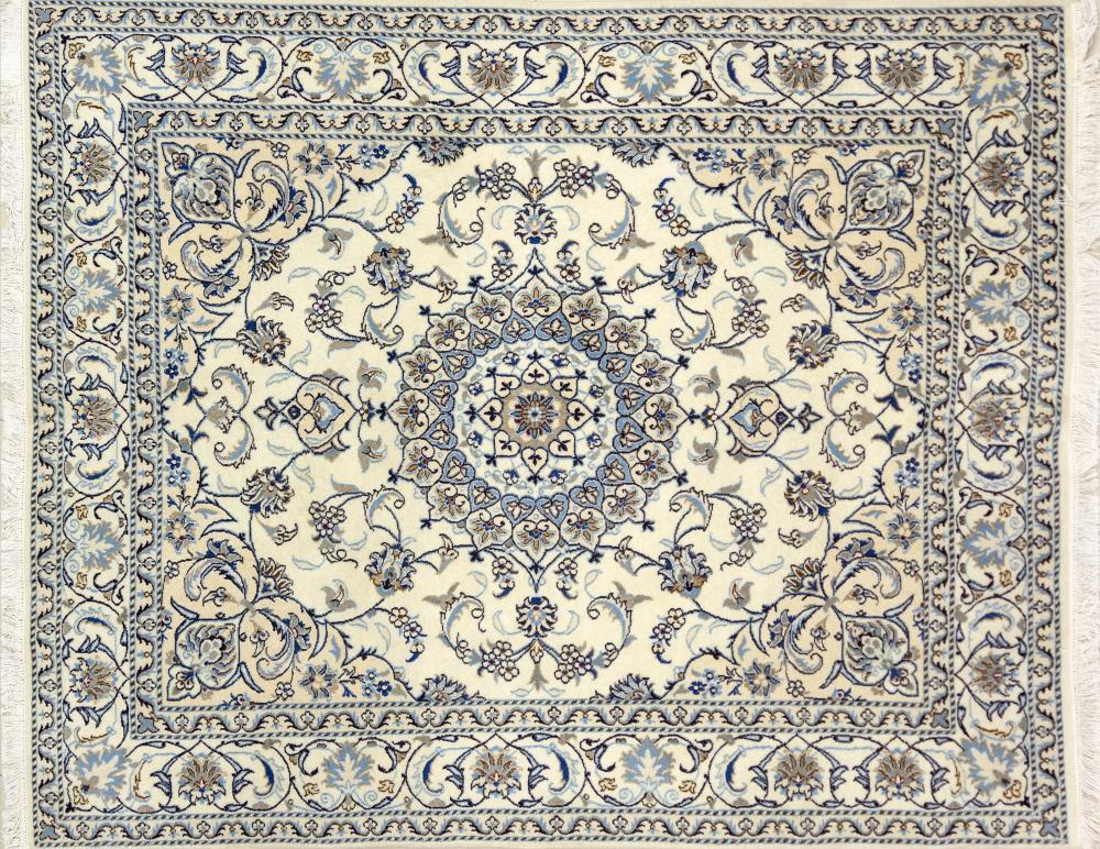 A Persian Hand Knotted Nain Rug, 236 x 191