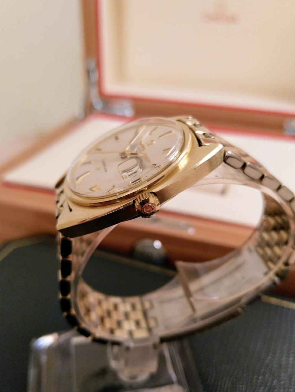 A 1968 Omega Constellation Chronometer, Cal.564, Gold Filled, Signed Crystal, A/F