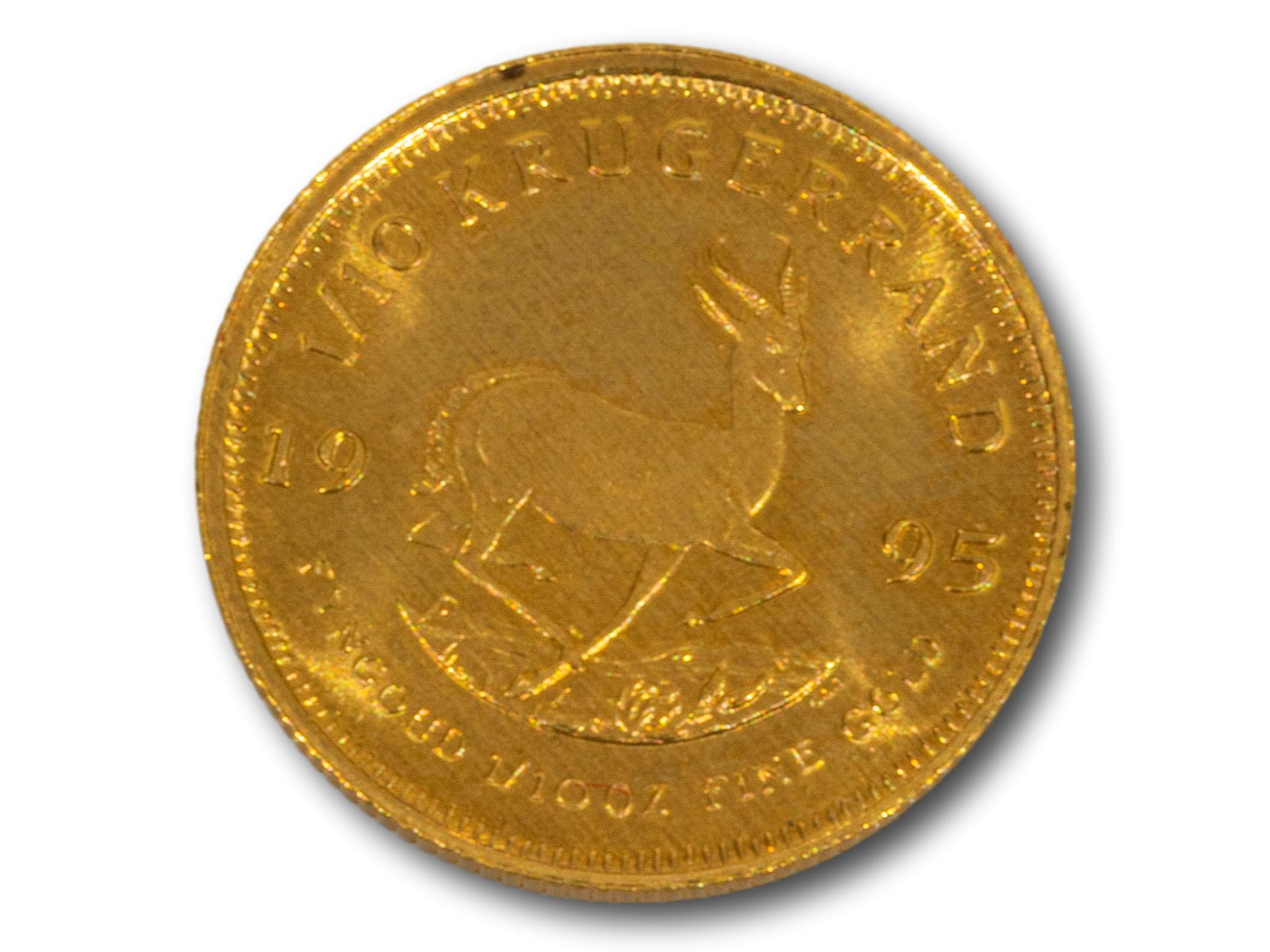 A 1995 1/10 Kruger Rand