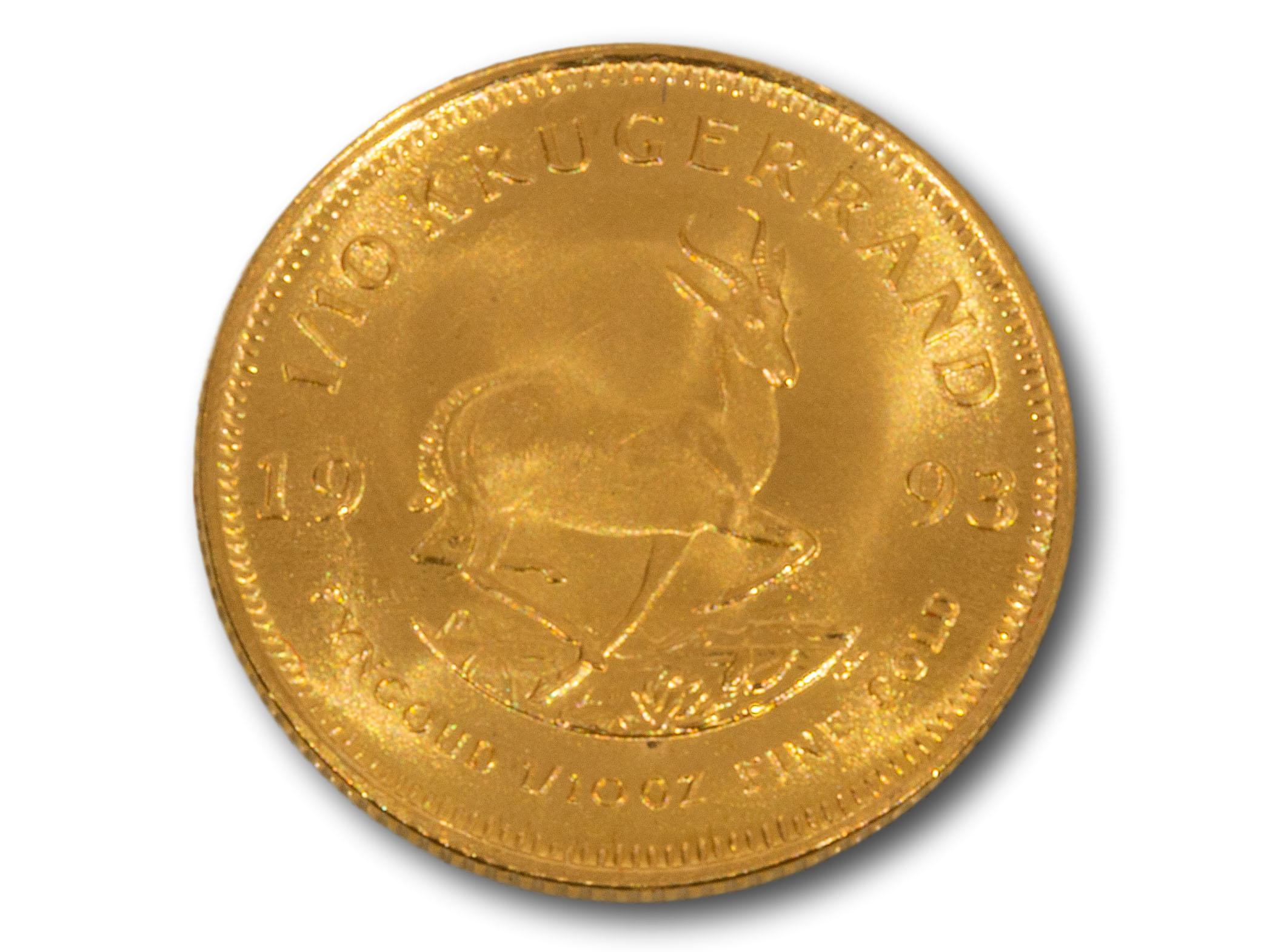 A 1993 1/10 Kruger Rand