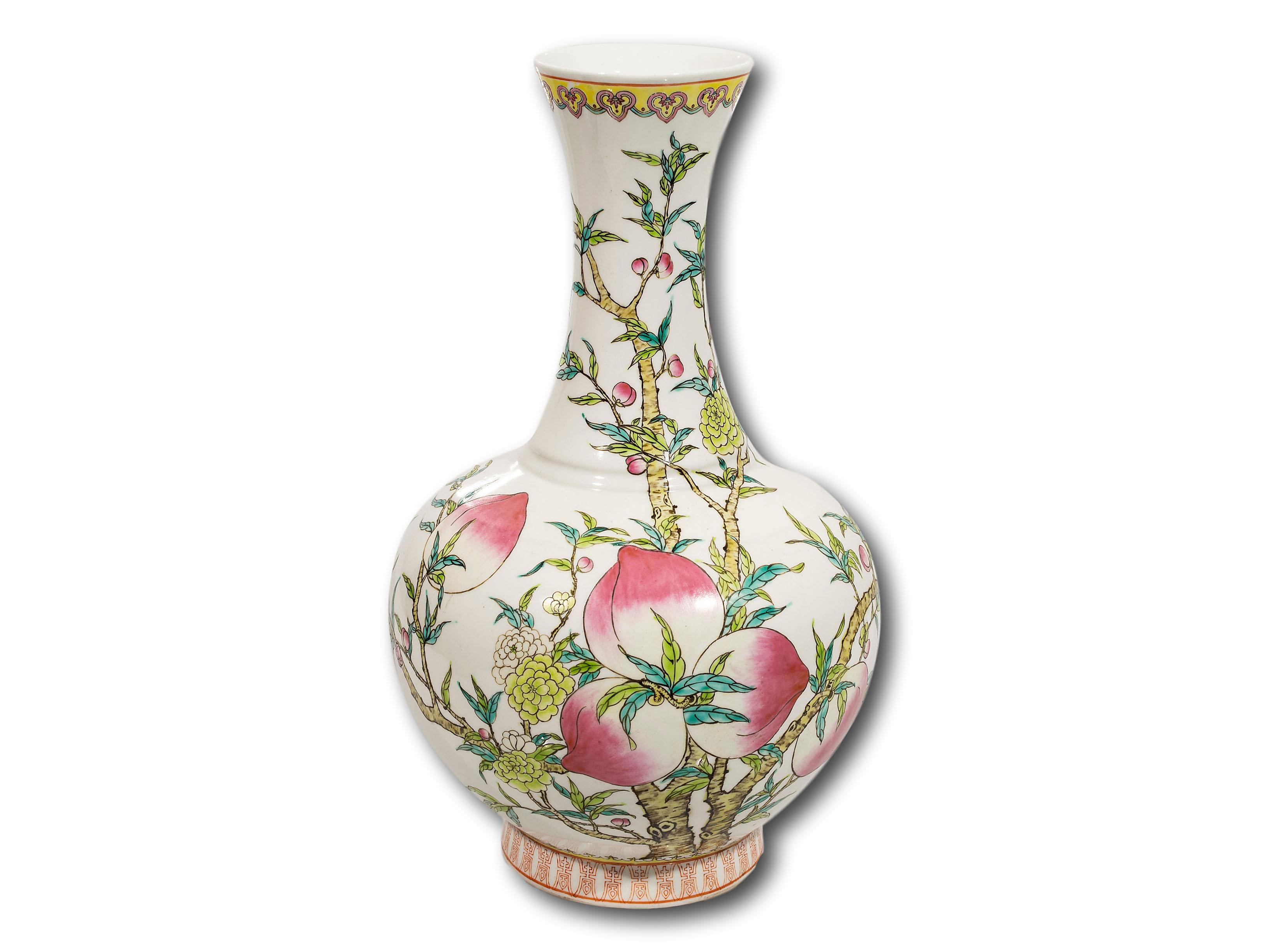 A Chinese Qianling Design Bottle Vase, 40cm