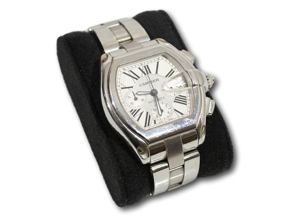 A Cartier Gents Wristwatch, A/F