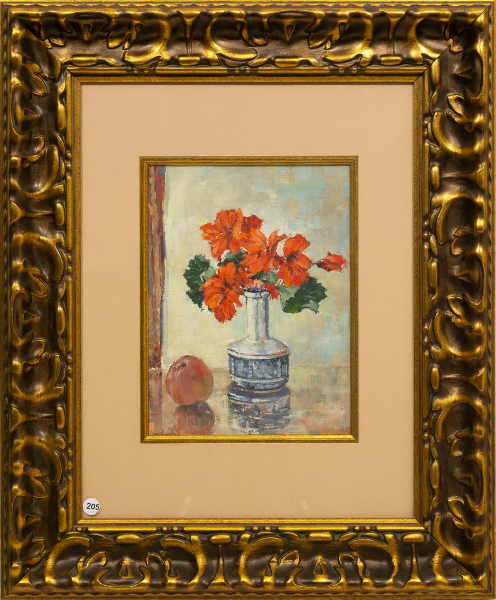 Bruce Hancock (SA 1924 - 1994) Oil, Still Life Flowers, Signed, 32 x 24