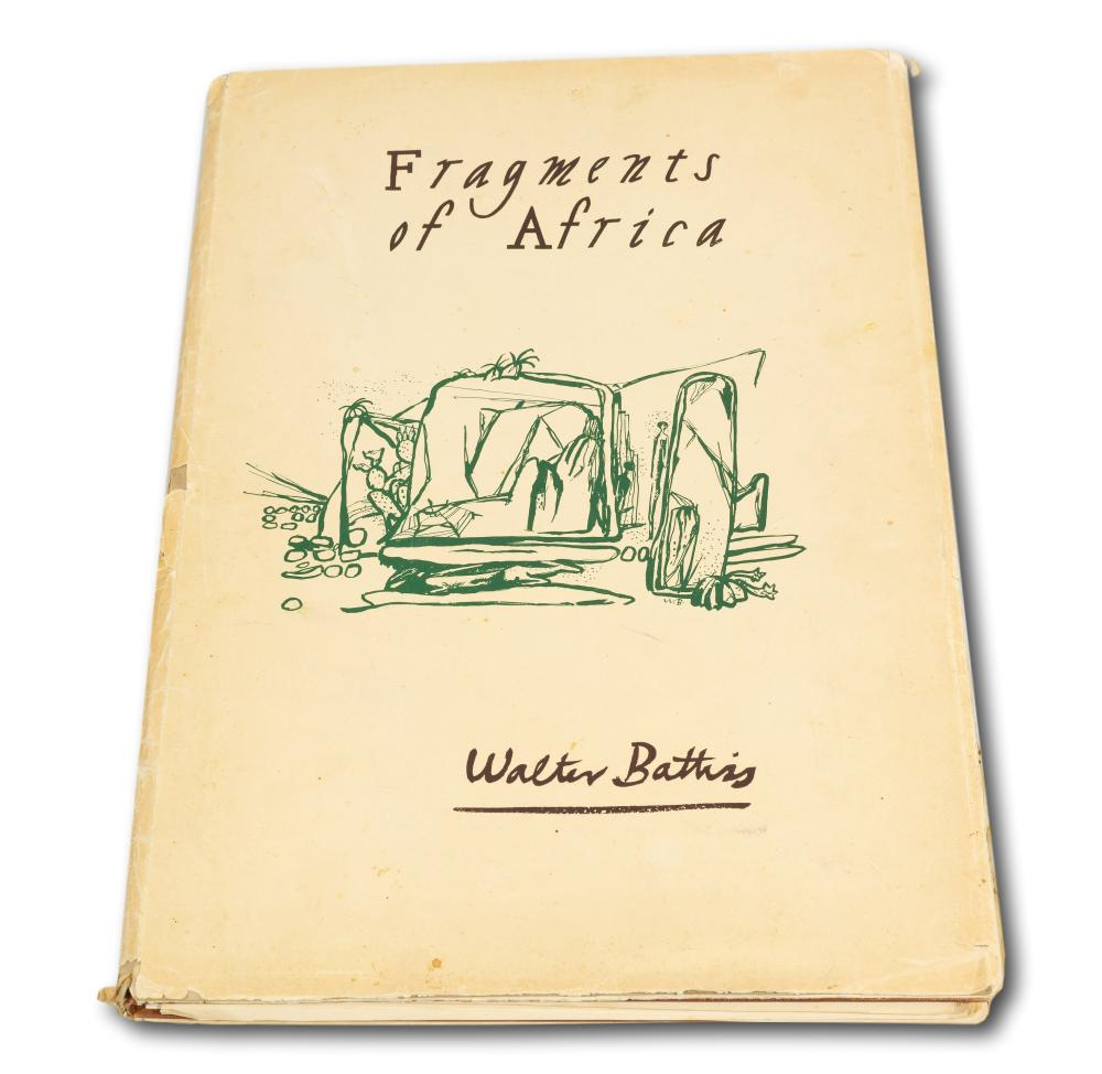 "Walter Battiss (SA 1906 - 1982) Portfolio of 25 Lithographs, ""Fragments of Africa"", Signed & Numbered Special Edition 13/75, 44 x 30 sheet size each"