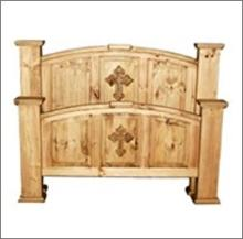 7th StepÂ?s Mansion Cross Accented Bed