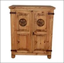 7th StepÂ?s Short Star Accented Armoire