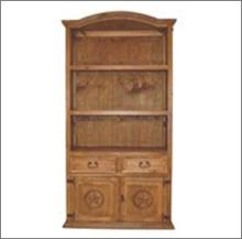 7th StepÂ?s Star Accented Door/ Drawer Bookcase