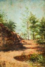 Hugh Bolton Jones American Oil on Board Landscape
