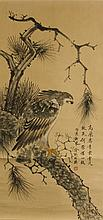 Jin Cheng 1878-1926 Watercolour on Paper Scroll