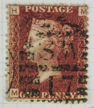 British One Penny 1864 Stamp