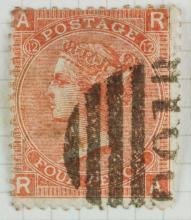 British Four Pence 1862 Stamp