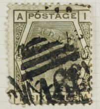 British Six Pence 1881 Stamp