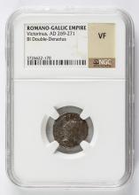 269-271 Ancient Rome Gallic Empire NGC Graded VF